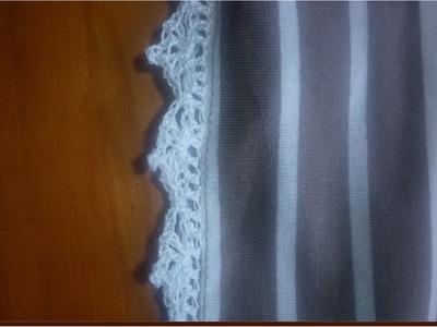 Adornos de crochet para blusas