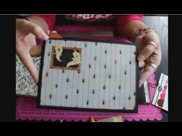 Álbum de Scrapbooking como hacer tarjetas para tus bolsillos