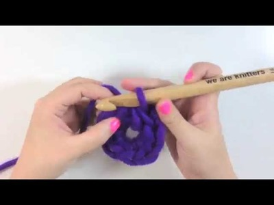 Aprende crochet -  Como hacer una cadeneta circular en crochet