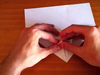 Avión de origami - Papiroflexia