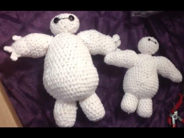 Baymax crochet tutorial. Grandes héroes, tejido Crochet amigurumi.