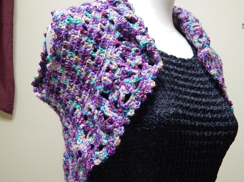 Bolero de Flores Crochet parte 1 de 3