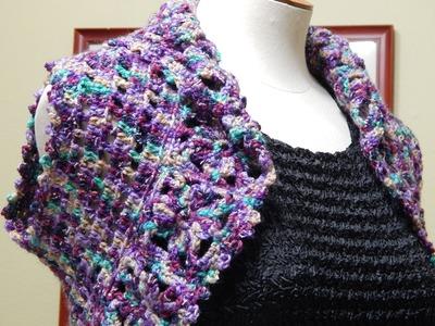 Bolero de Flores Crochet parte 2 de 3
