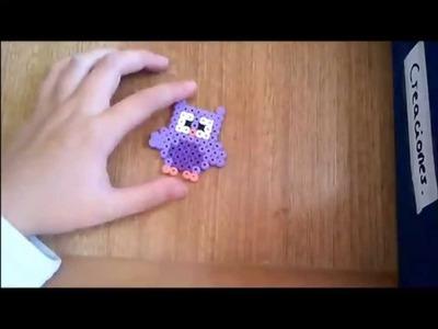 Buho de hama beads