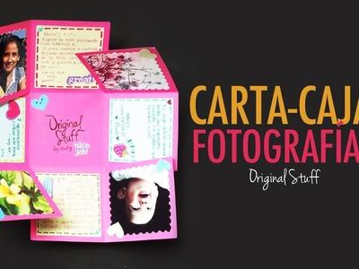Carta.Caja con fotografías [Scrapbook]