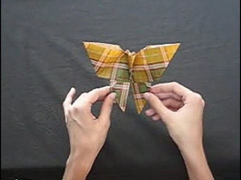 Cómo confeccionar una mariposa de papel