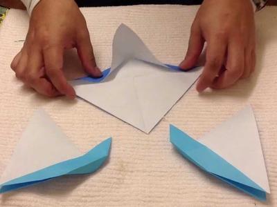Cómo hacer barcos de papel - Figuras de origami