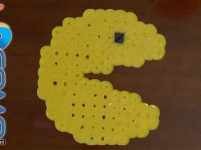 Cómo hacer figuras con hama beads (Pacman)
