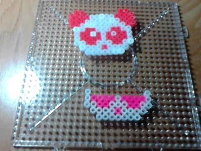 Como hacer osito de hama beads