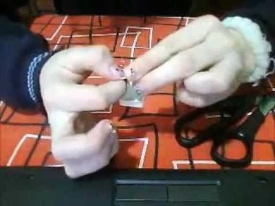 Como hacer un anillo de papel. .origami, facil y rapido