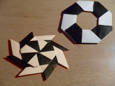 Como hacer un Shuriken Origami ep:2