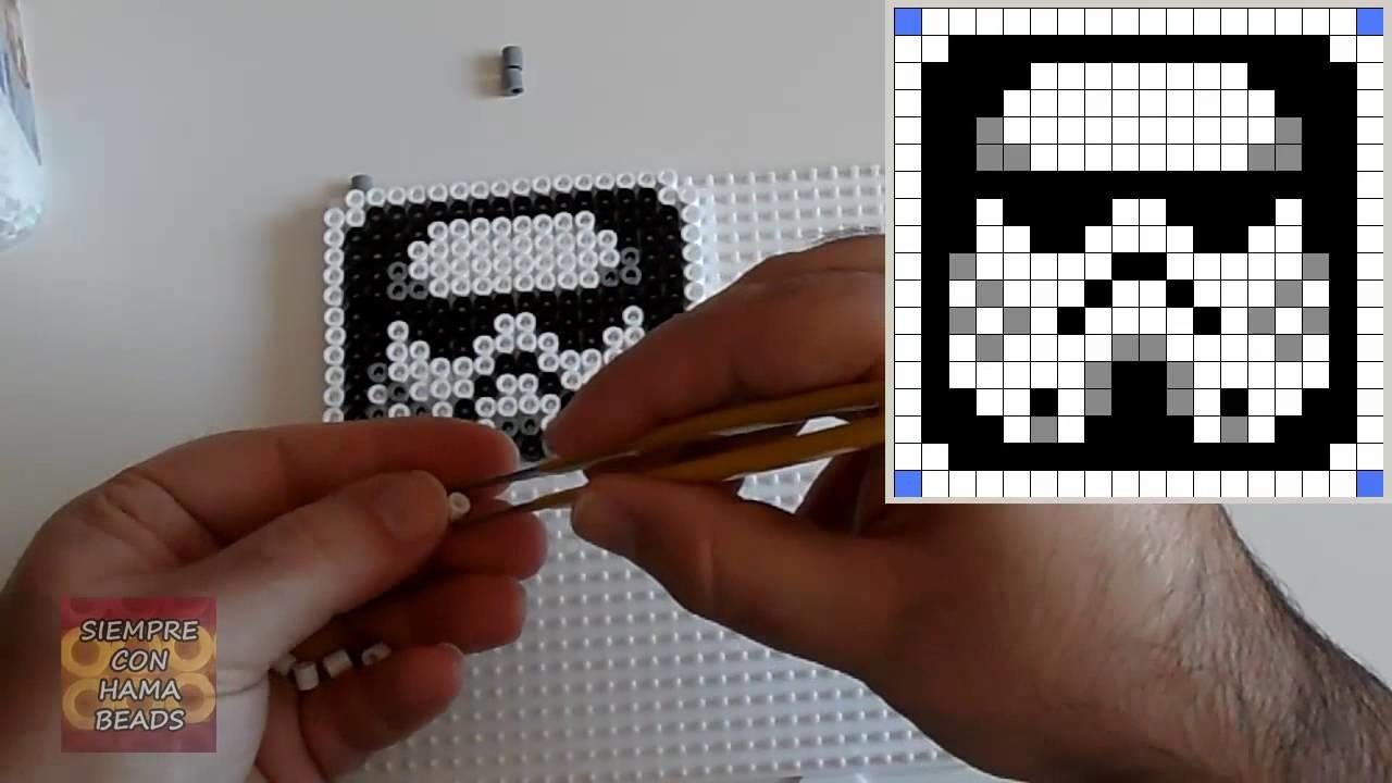 Cómo hacer un Stormtrooper con Hama Beads