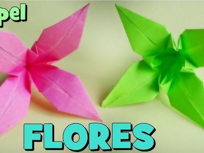 Cómo hacer una Flor de Papel - Origami Lirio