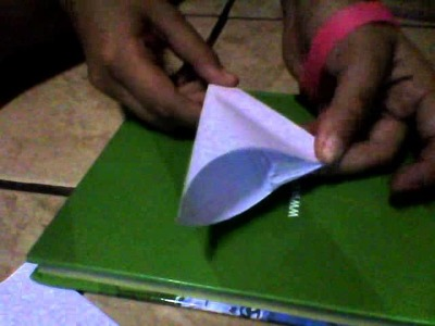 Como hacer una flor origami facil :)