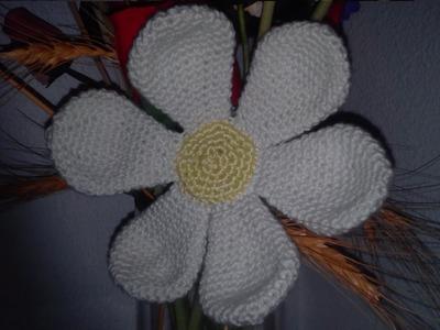 Como hacer una Margarita paso a paso en español a crochet o ganchillo