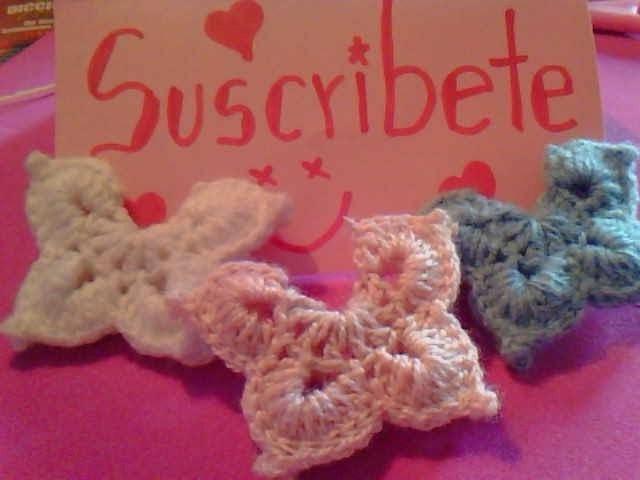 Como Hacer Una Mariposa A Crochet En Español