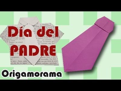 Corbata de origami (Especial día de Padres)