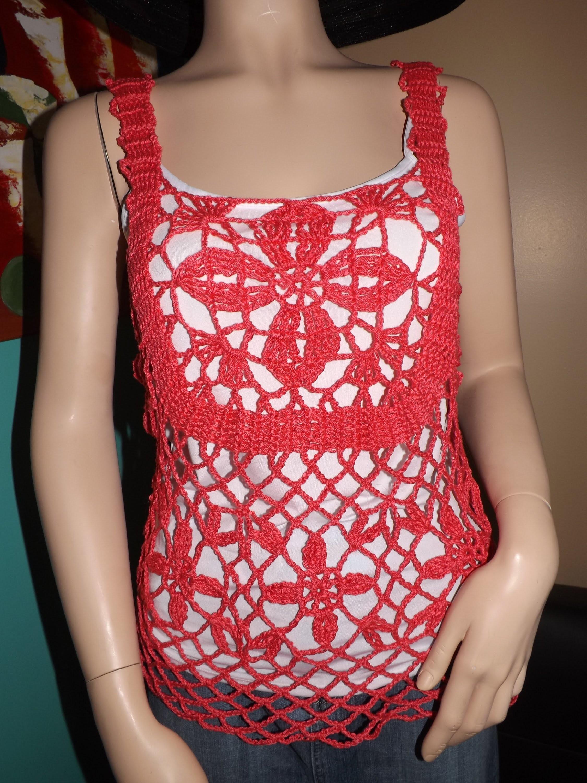 Crochet Blusa De Verano Jasmin Parte 2 De 3