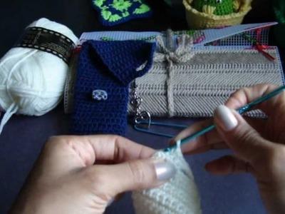 Crochet, como hacer una funda para tu celular (HD) 2.2