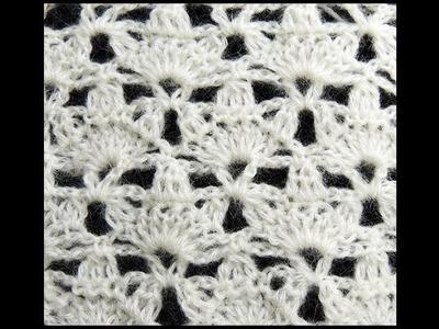 Crochet : Punto Fantasia # 15, Recto