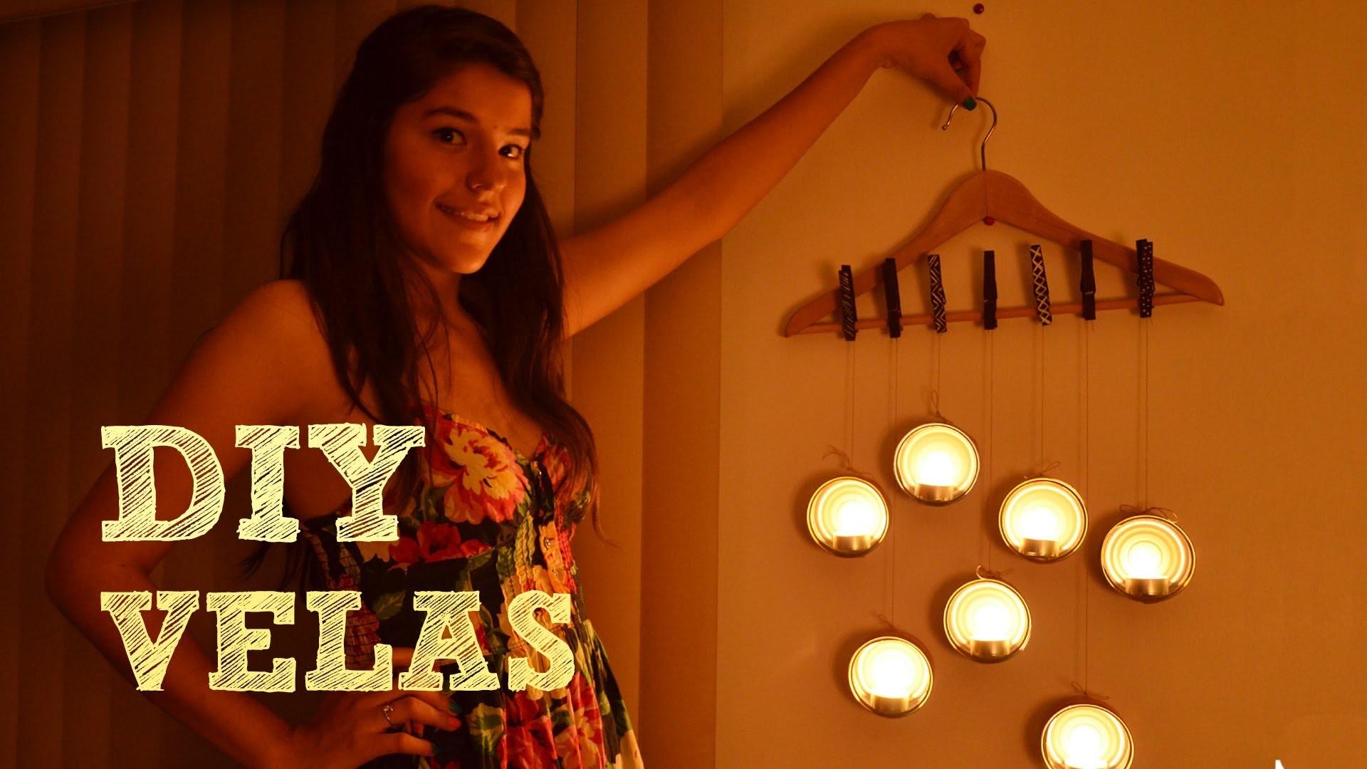 Decora tu habitación DIY | Velas | Ideas para decorar tu cuarto DIY | Hazlo tu mismo | Manualidades