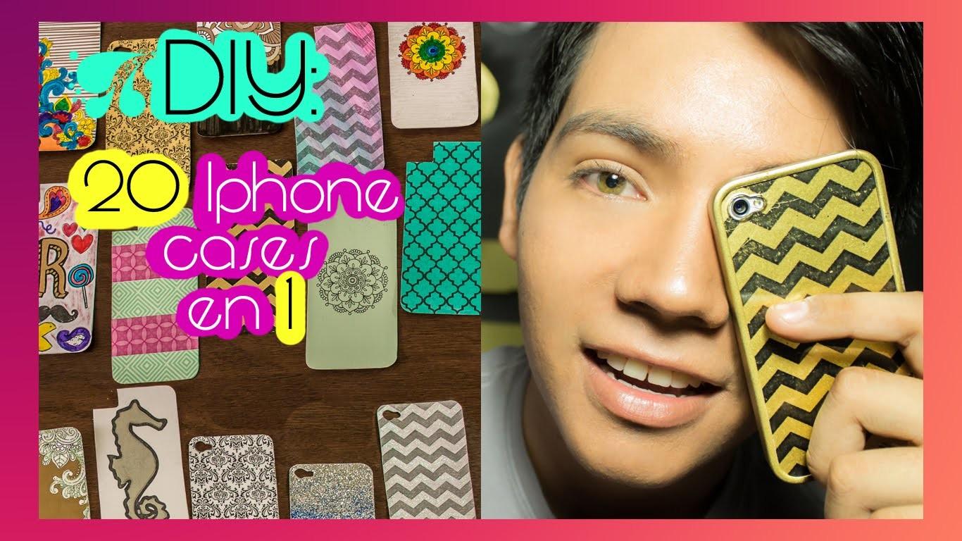 DIY: 20 Diferentes fundas para tu celular en una