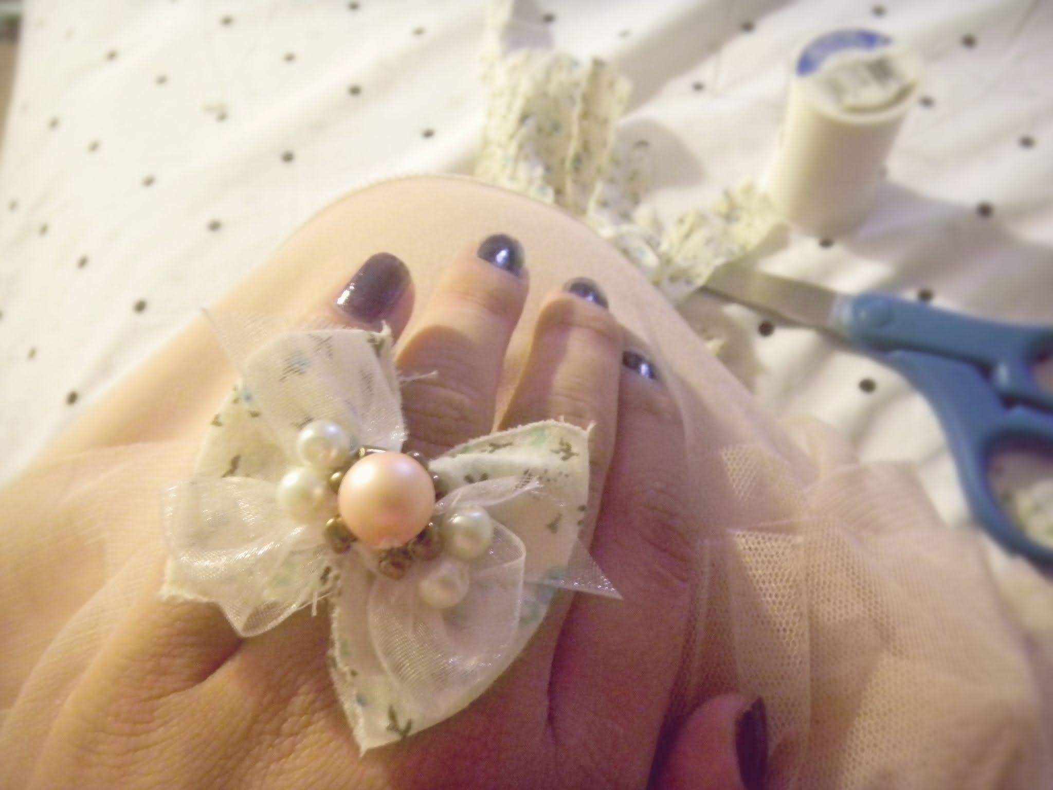 DIY♡ Anillo & collar de lazo! :)