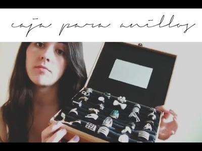 DIY : caja para anillos!