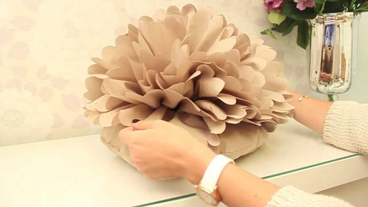 DIY Cojín Flor