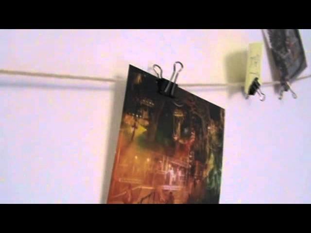 DIY- Decora tu cuarto, cuelga tus fotos!!