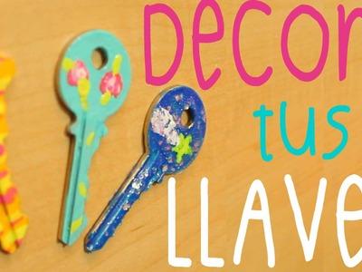♥ DIY: Decora tus LLAVES con esmalte de uñas ♥ | Tutorial