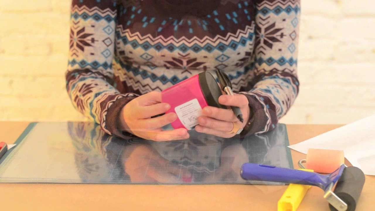 DIY - Decorar una Bolsa (Tote Bag) con Stencil y Pintura Textil