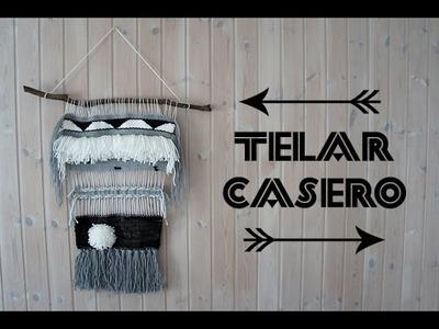 DIY Telar casero - Cómo hacer tu propio tapiz casero
