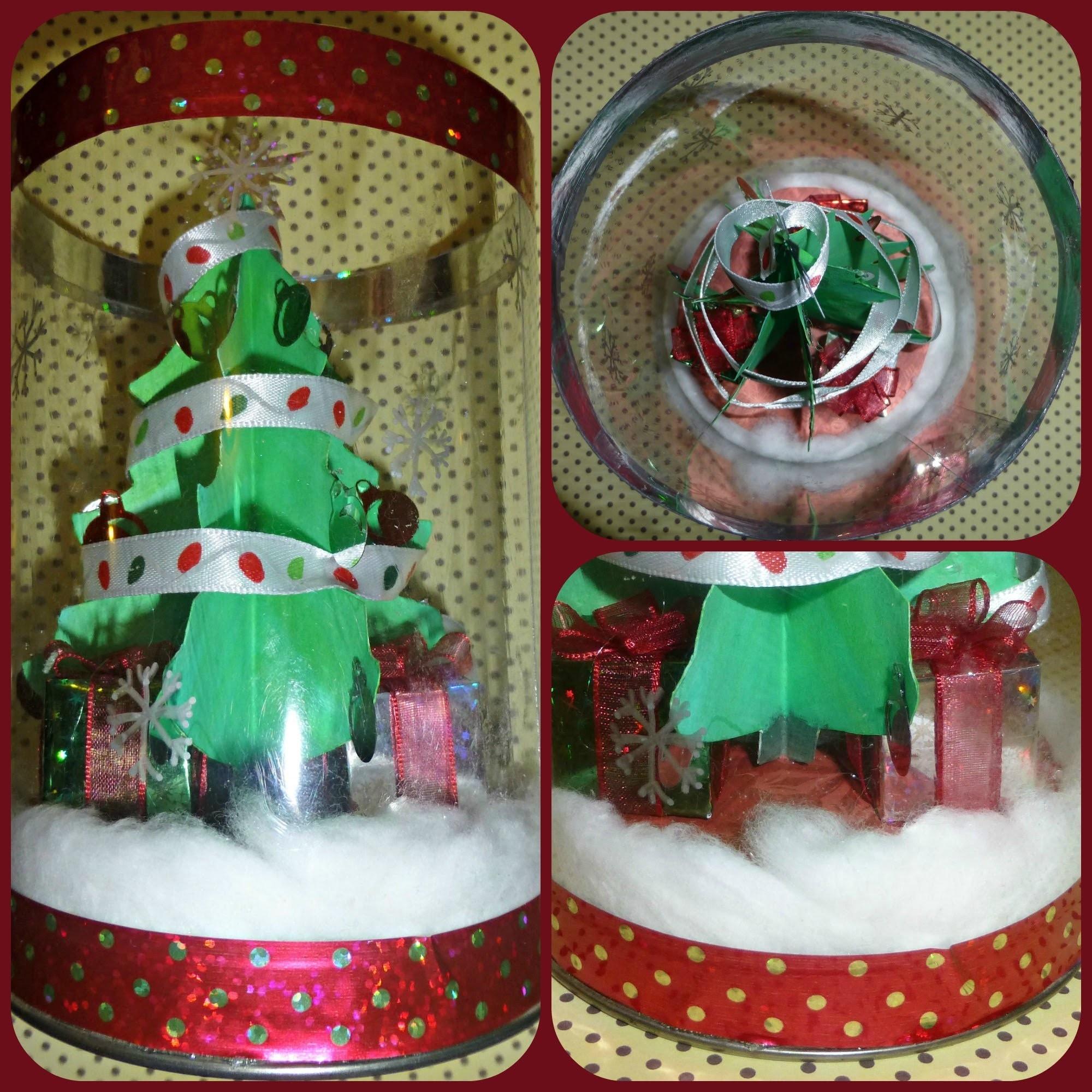 DIY: Tutorial adorno Navideño (árbol de navidad. christmas tree)