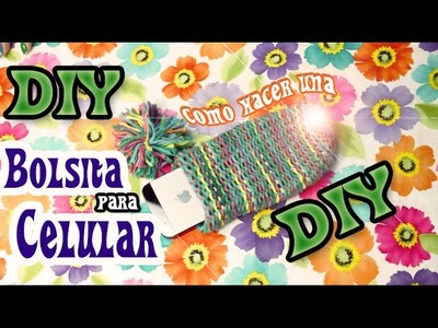 DIY : ♥ Tutorial : Como hacer una funda para tu celular ♥ Bueno, Bonito y Barato