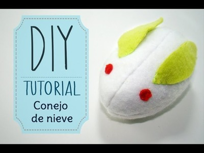[DIY] Tutorial - Peluche de Conejito de Nieve.Snow Rabbit Plush