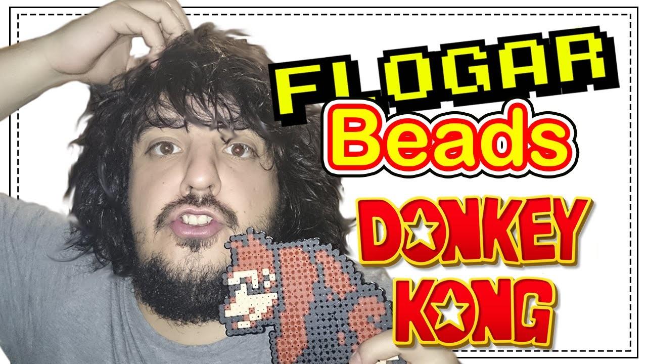 DONKEY KONG DIY- Tutorial Pearl.Hama Beads para Gamers - FloGar o.O
