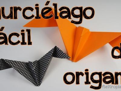 Especial Halloween: Cómo hacer un murciélago de origami fácil