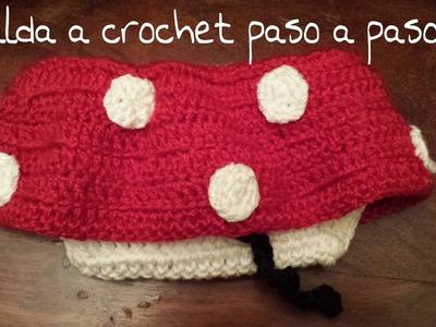 Falda de la Minnie  Mouse a crochet !!!  Parte 1º ¡¡¡