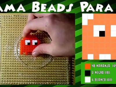 Fantasma del Pacman - Tutorial Hama Beads