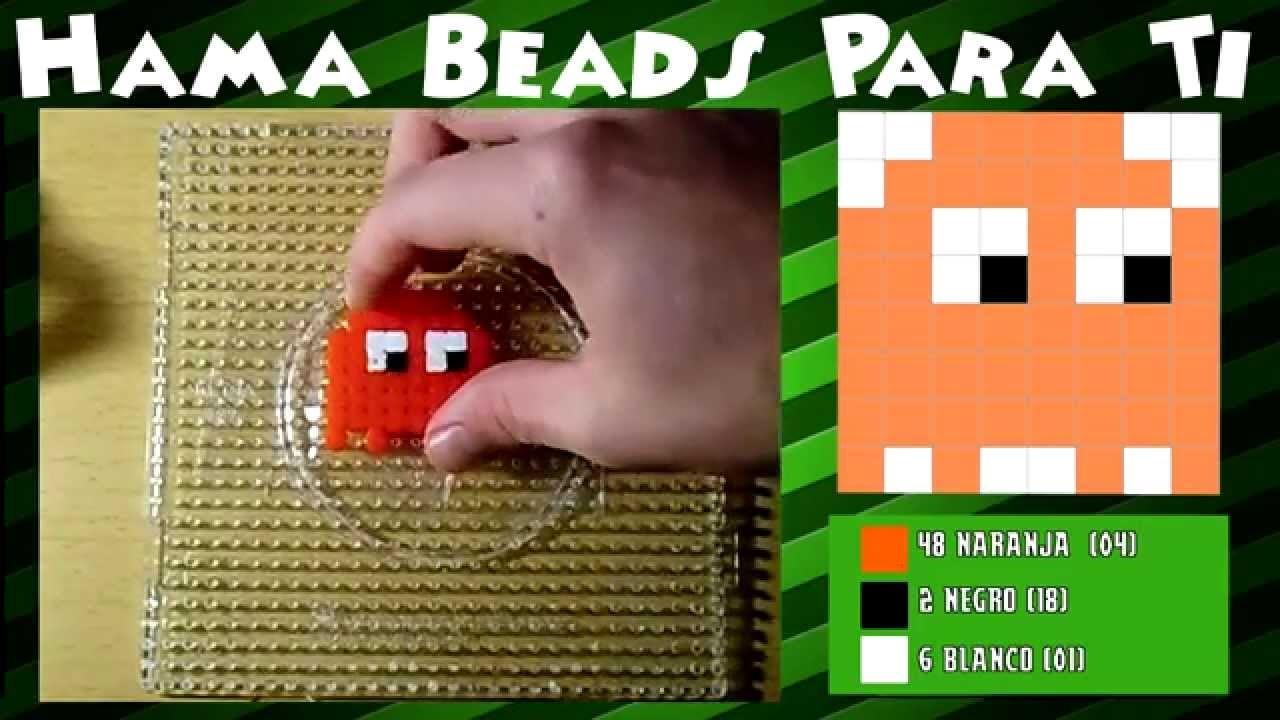 Fantasma del Pacman - Tutorial Hama Beads