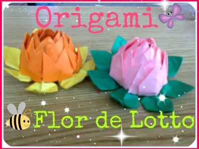 Flor de Loto.Origami