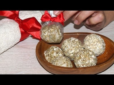 Jabón Exfoliante de Avena - DIY - Exfoliating Oat Soap