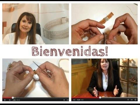Joyeria Crochet Tejida en Punto Peruano - Quieres Aprender?