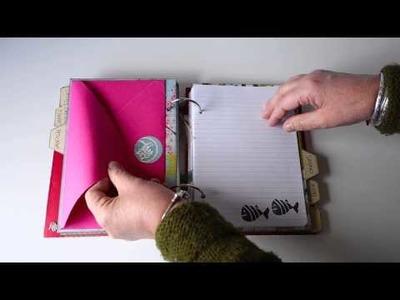 Libro de Recetas. Cookbook. DIY Scrapbook