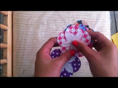 ♥ Mini Tutorial • Flores Scrapbook de Papel • ¿Como hacer mis propios embellecedores? 2 ♥