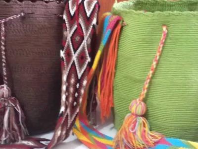 Mochilas Wayuu en tejido crochet