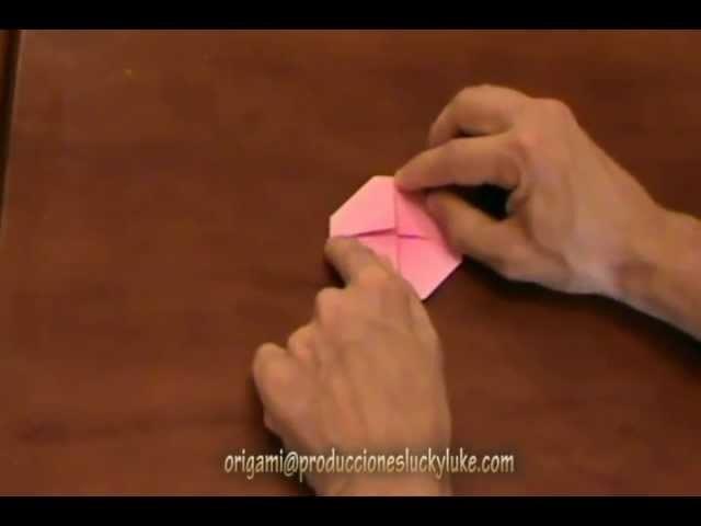 Origami para todoso 1x4 La rosa