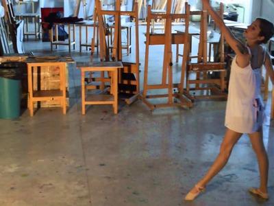 PERFORMANCE ART- MYSELF(YO MISMA) by Sara Aroca