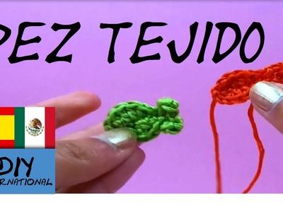 PEZ A CROCHET - FIGURAS TEJIDAS A CROCHET PASO A PASO - TUTORIAL DIY